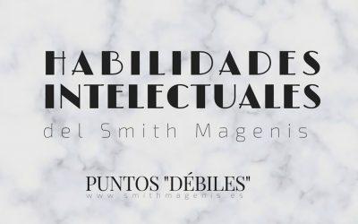 """HABILIDADES INTELECTUALES DEL SMITH MAGENIS: PUNTOS """"DÉBILES"""""""