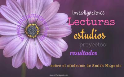 LECTURAS RECOMENDADAS, REFERENCIAS E INVESTIGACIONES  SOBRE EL SMITH MAGENIS
