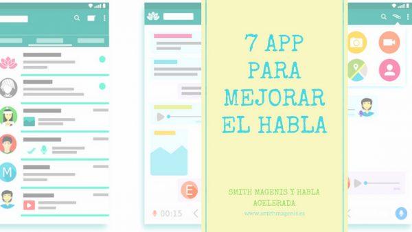 7 app para mejorar el habla acelerada y tartamudez