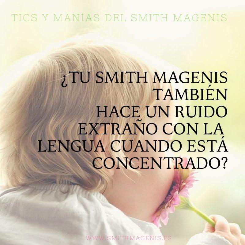 tics nerviosos en niños con Smith Magenis