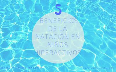 5 BENEFICIOS DE LA NATACIÓN EN NIÑOS HIPERACTIVOS