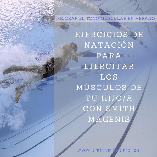 10 ejercicios de natación para hacer con tu hijo