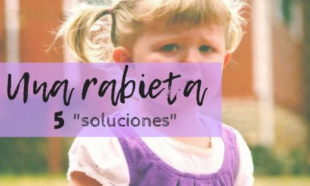 """UNA RABIETA, CINCO """"SOLUCIONES"""""""