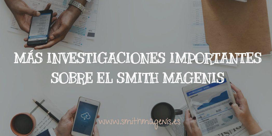 más investigaciones importantes sobre el Smith Magenis