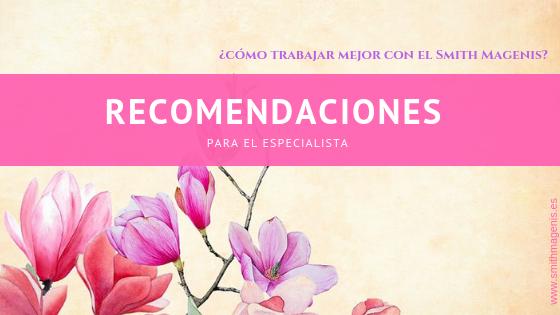 RECOMENDACIONES PARA EL LOGOPEDA Y OTROS ESPECIALISTAS