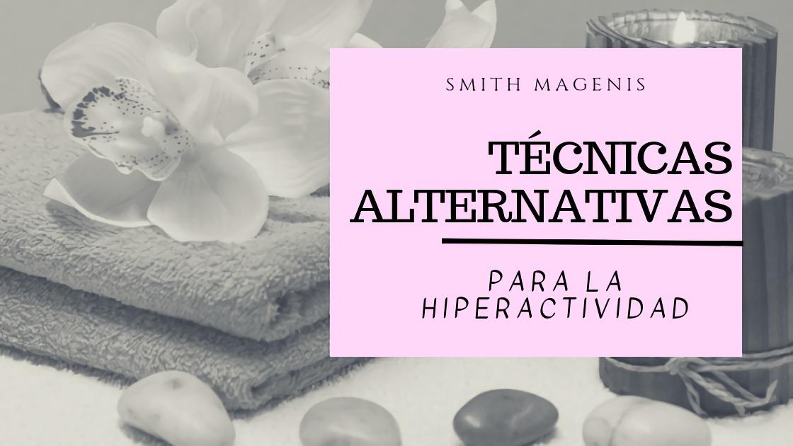 técnicas alternativas para la hiperactividad